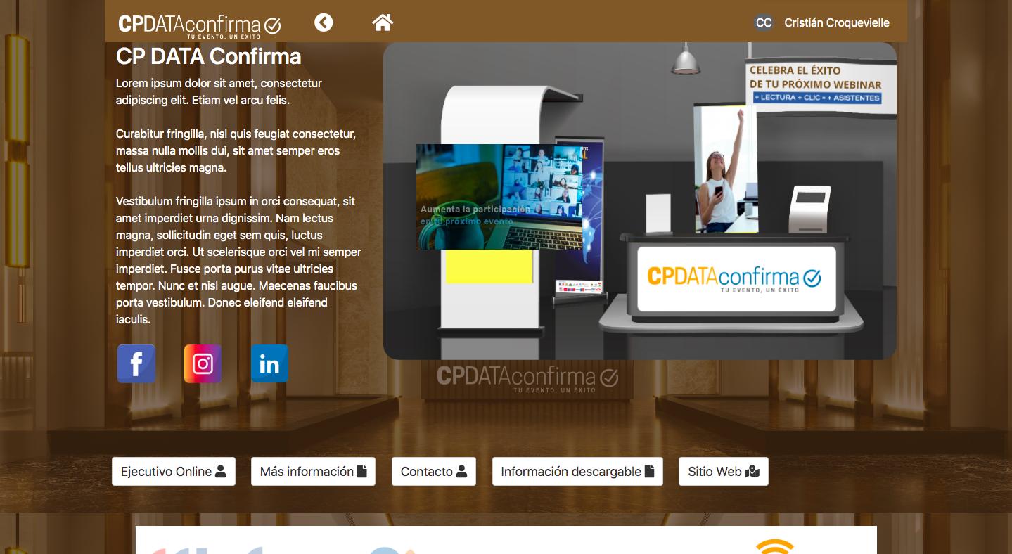 Centro de Evento Virtual CPdata